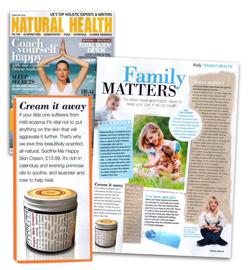 Natural Health Magazine Jo wood