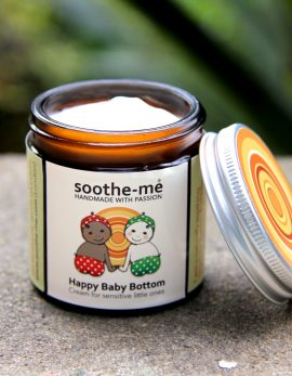 Soothing baby bottom cream