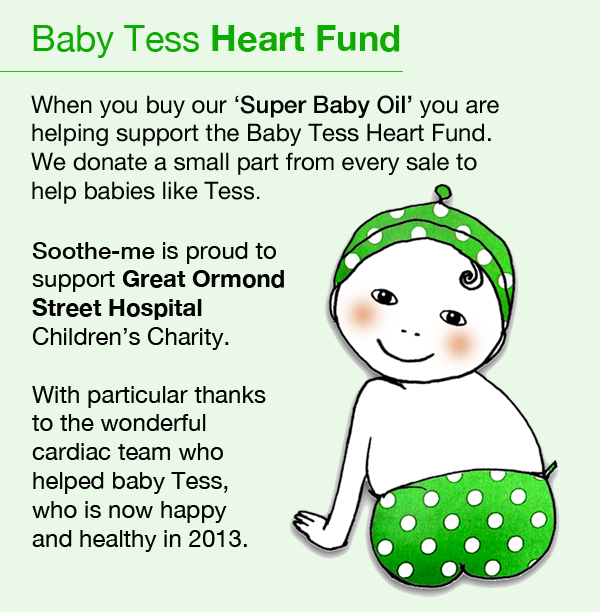 Baby Tess Heart Fund, soothe-me