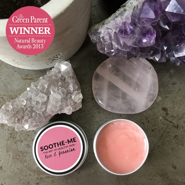 Winning beauty balm with Rose and Geranium
