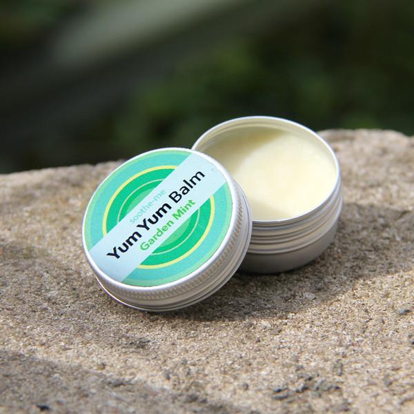 Vegan mint SPF10 lip balm