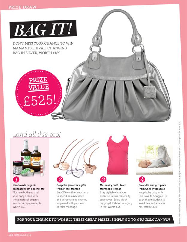 Gurgle magazine bag-it prize