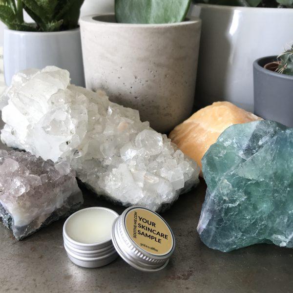 natural skincare sample size
