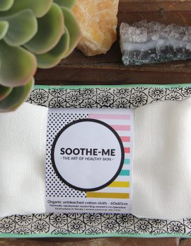 reusable Fairtrade organic cotton face cloth
