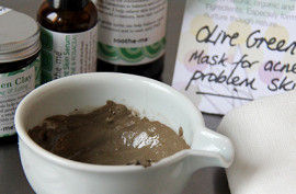 Make your own clay face mask