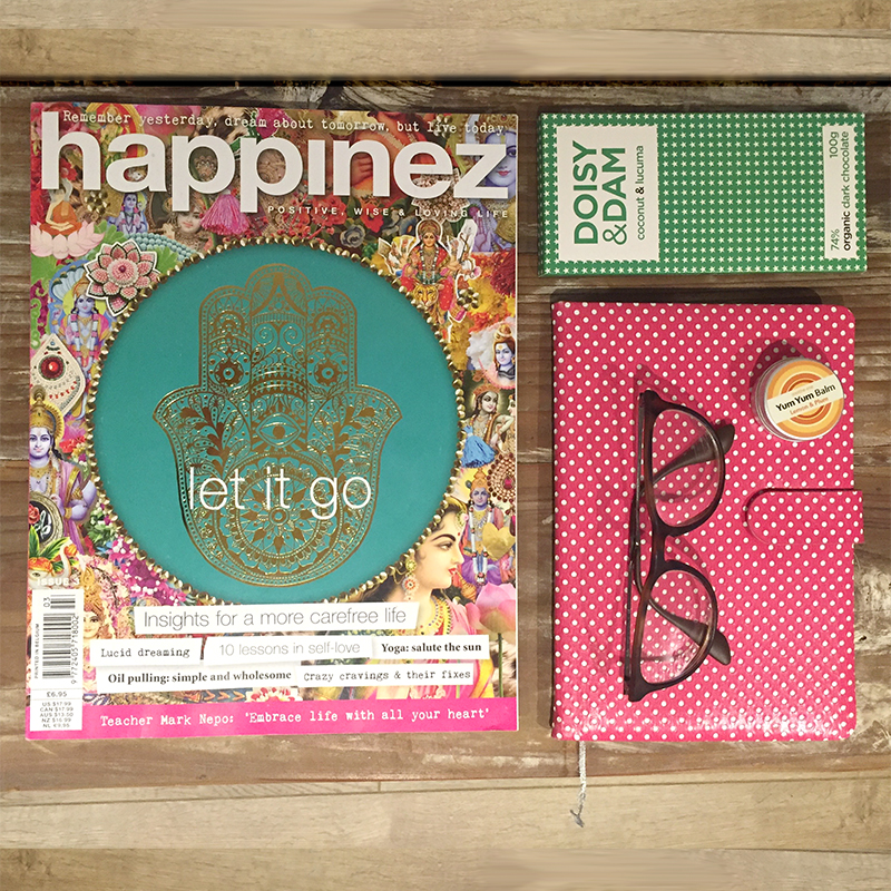 Happinez magazine - Let it go