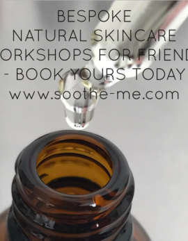 learn how to make your own bespoke skincare