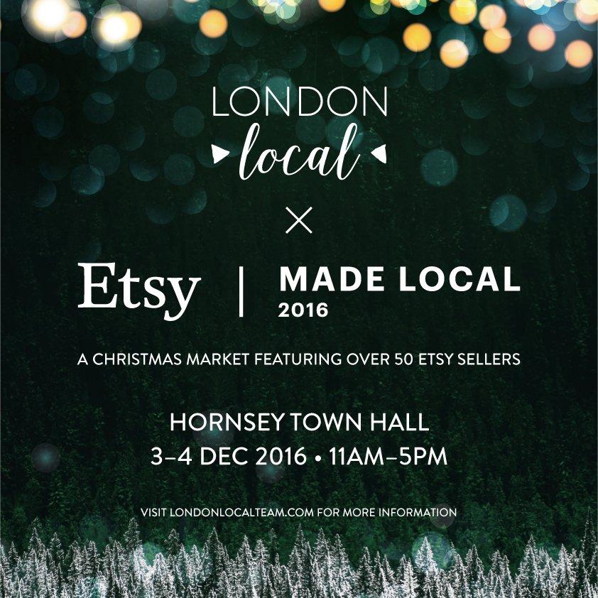 London Local Team Christmas Market 2016