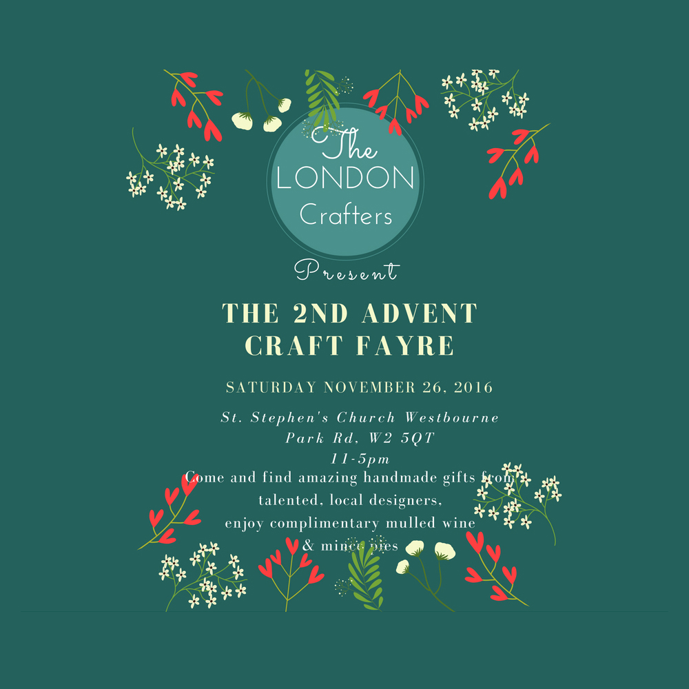 London crafters advent christmas market 2016