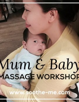 Mum-baby-massage-workshop London