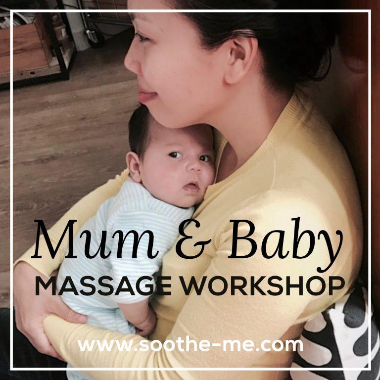 Mum-baby-massage-workshop London