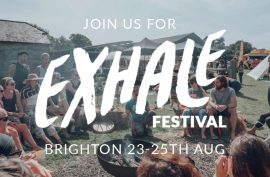 Exhale Festival Brighton, 2019, soothe-me skincare