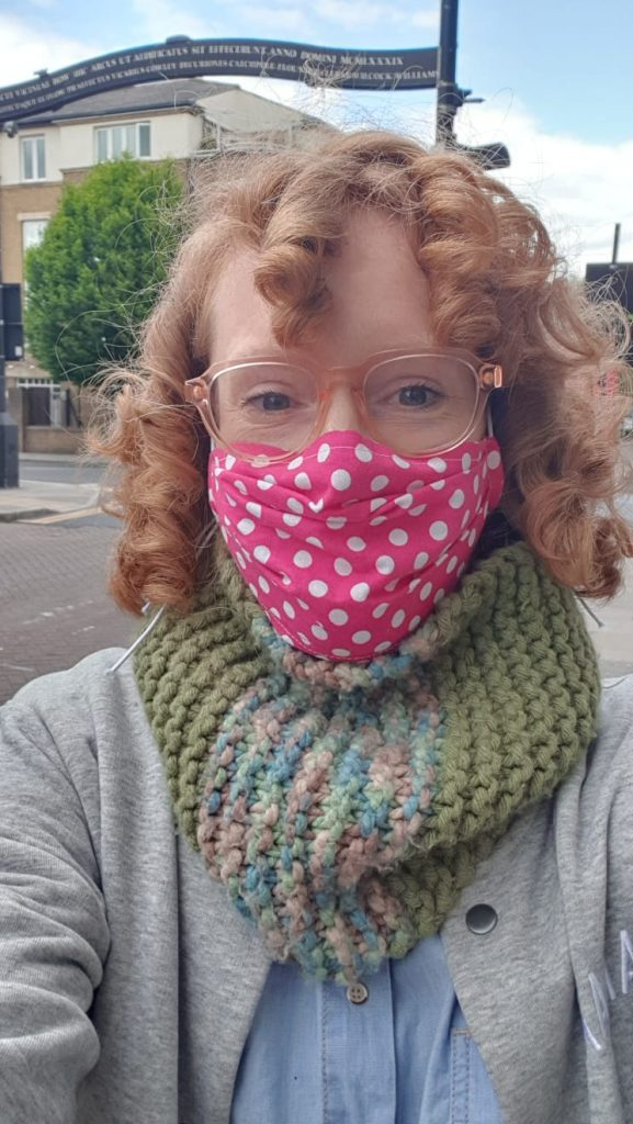cotton face mask to protect from virus